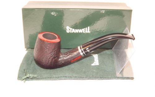 Stanwell pipa Trio 246 Black Sand