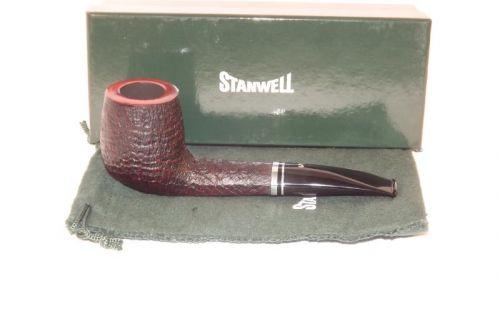 Stanwell pipa Trio 234 Black Sand