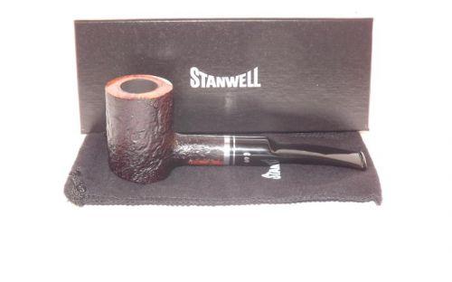 Stanwell pipa Trio 207 Black Sand