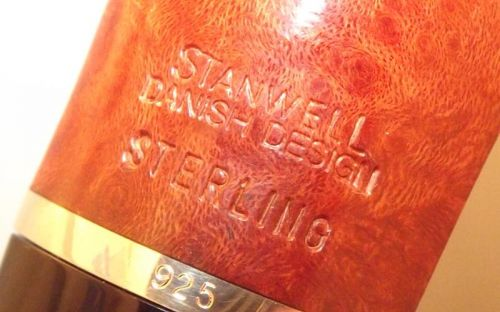 Stanwell pipa Sterling 15 Brown Polish