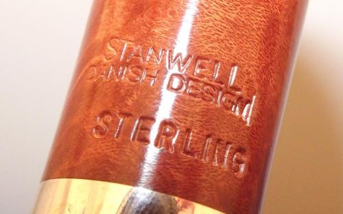 Stanwell pipa Sterling 13 Brown Polish