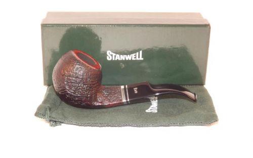 Stanwell pipa Trio 15 Black Sand