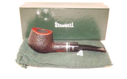 Stanwell pipa Trio 11 Black Sand
