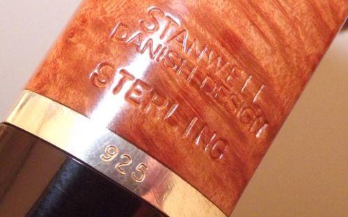 Stanwell pipa Sterling 182 Light Polish