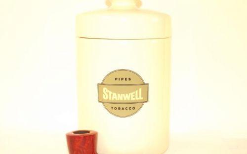 Stanwell Melange pipa + dohánytartó