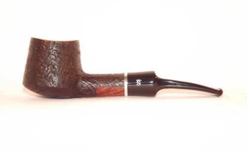 Stanwell pipa Relief 118 Black Sand