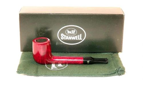 Stanwell pipa Featherweight 202 Red Polish