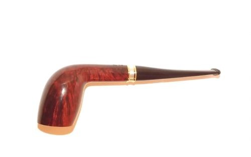 Stanwell pipa H. C. Andersen 1 Brown Polish No Filter