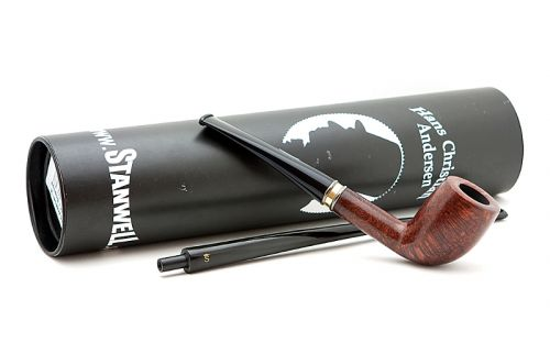 Stanwell pipa H. C. Andersen 1/A Brown Polish No filter