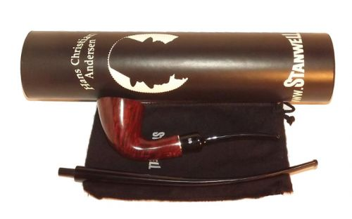Stanwell pipa H. C. Andersen 6 Brown Polish No Filter
