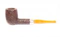 Peterson pipa Tan Sandblasted Spigot 106 F-lip