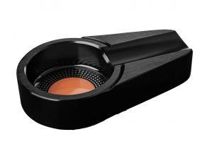 Szivar hamutartó - 1 szivarnak, fekete