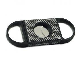 Szivarvágó fekete Carbon (20mm)