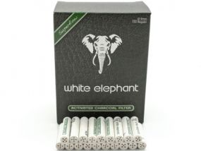 Pipafilter aktivszenes (9mm) - 150db, White Elephant Superflow