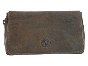 Rattray's Peat CP2 pipatáska 2 pipa számára, barna bőr