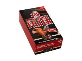 Pipafilter aktivszenes (9mm) - 200db
