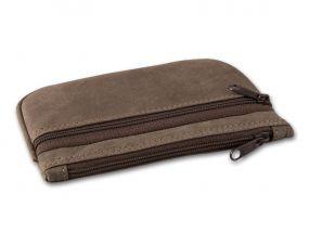 Pipadohány tartó - barna bőr (13,5x8,5cm)
