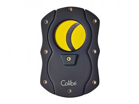 Colibri C-Cut Szivarvágó - sárga/fekete (22mm)