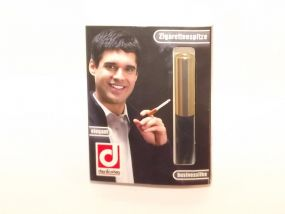 Denicotea Elegant arany cigaretta szipka 78mm  +10 db szűrő