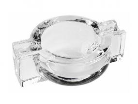 Szivar hamutál - Üveg, Kör alakú