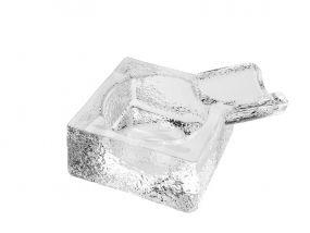 Szivar hamutartó - Üveg, Négyzet alakú