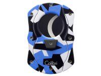 Colibri Camo C-Cut Szivarvágó - kék (22mm)