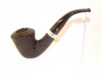 Peterson pipa Cara B10 Sandblast F-lip Bent Dublin