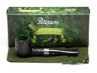 Peterson pipa St. Patrick's Day X105 Sand F-lip